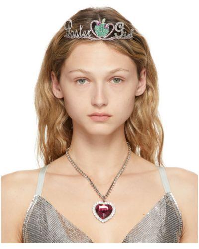 Серебряная диадема металлическая Poster Girl