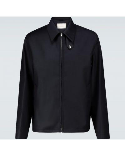 Куртка на молнии - синяя Mackintosh