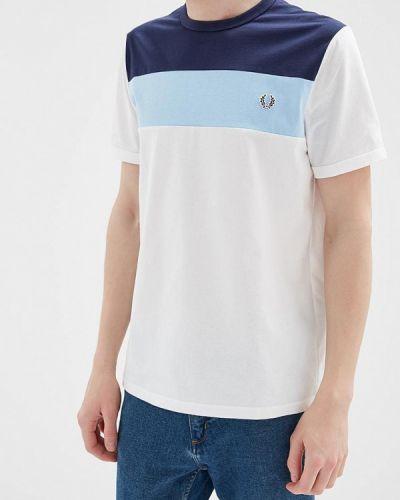 Белая футболка Fred Perry