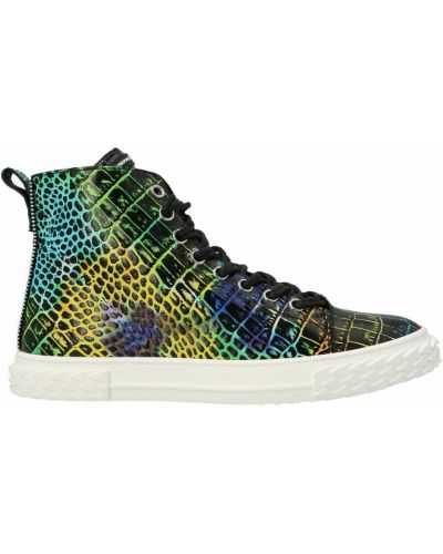 Sneakersy - zielone Giuseppe Zanotti
