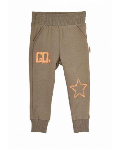 Бежевые брюки спортивные Robinzon