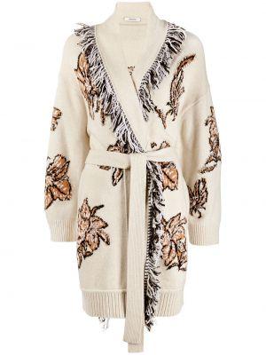 Прямое шерстяное вязаное длинное пальто Dorothee Schumacher
