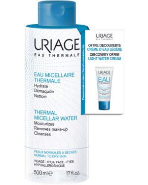 Мицеллярная вода очищающий кожаный Uriage