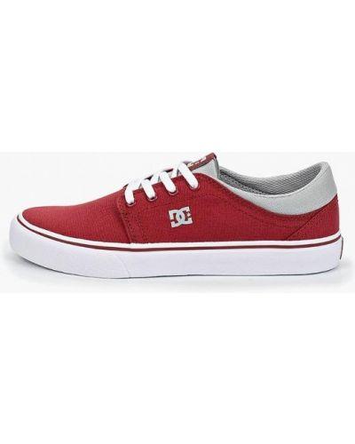 Кеды красные Dc Shoes
