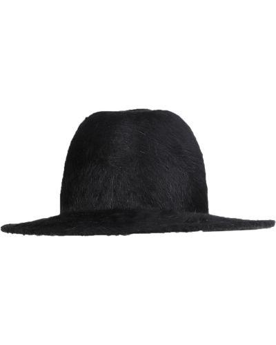 Czarna czapka Ann Demeulemeester