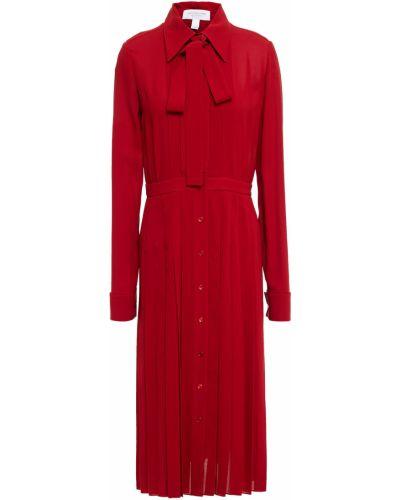 Шелковое платье миди Michael Kors Collection