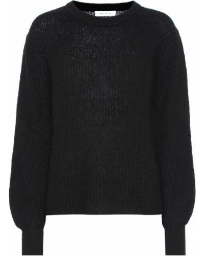 Кашемировый черный свитер Ryan Roche