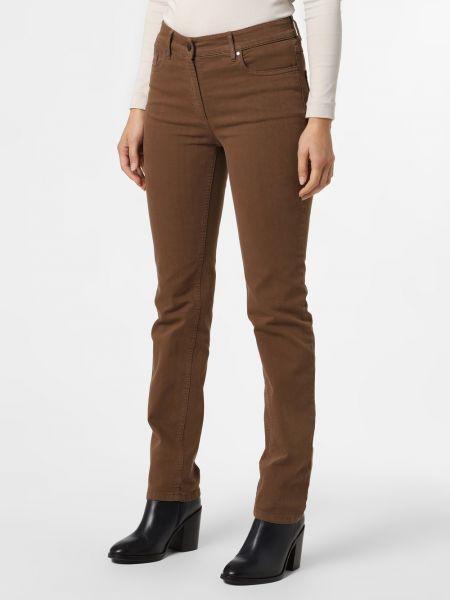 Brązowe spodnie Zerres