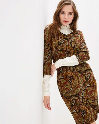 Платье прямое осеннее Adzhedo