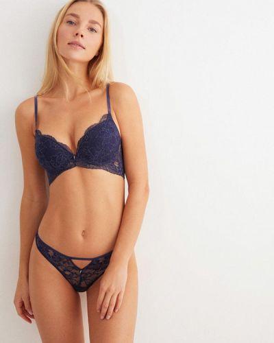 Синий бюстгальтер из плотной ткани Women'secret
