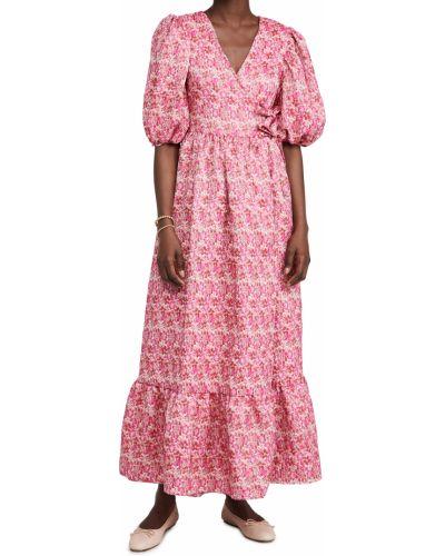 Платье из вискозы на резинке с манжетами Sister Jane
