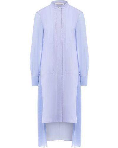 Вечернее платье из поплина платье-рубашка Chloé