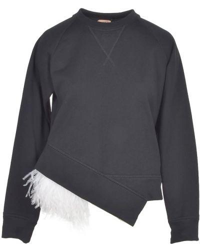 Czarna bluza dresowa N°21