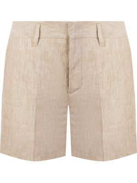 Короткие шорты бежевые с карманами Malo