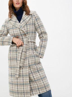 Бежевое зимнее пальто Shartrez