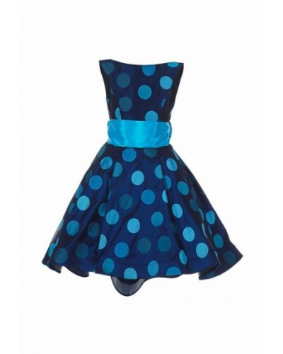 Платье на торжество синий Love Story