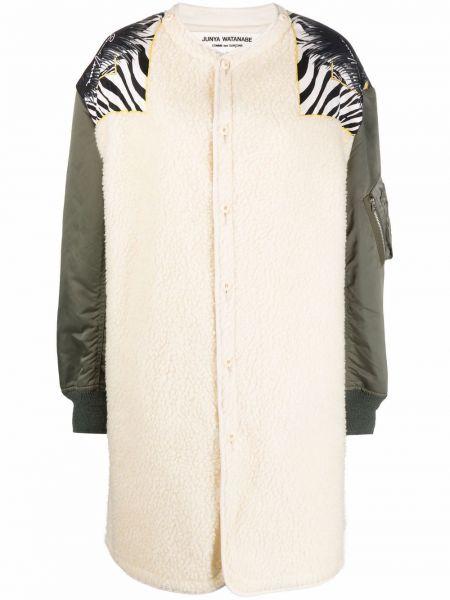 Пальто без воротника Junya Watanabe