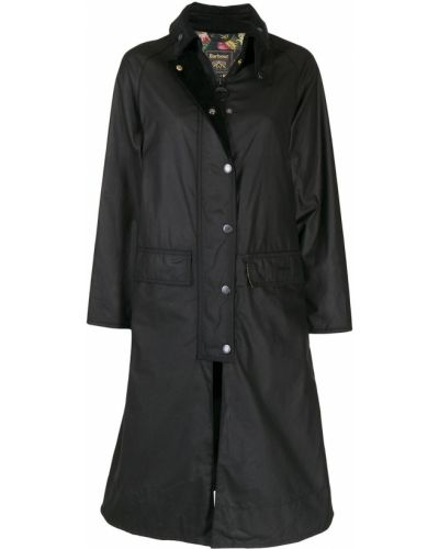 Пальто оверсайз - черное Barbour