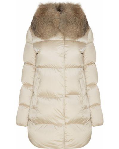 Утепленная куртка однотонная свободная Moncler