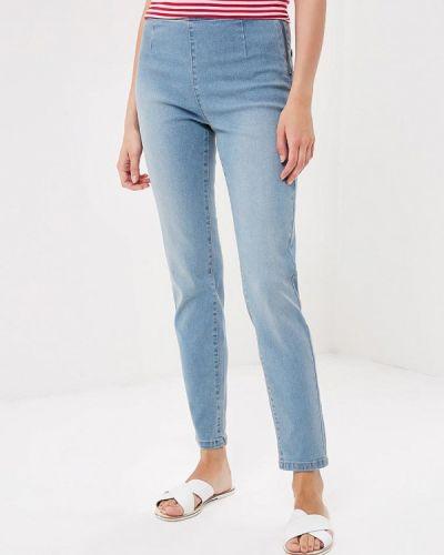 Голубые джинсы-скинни Befree