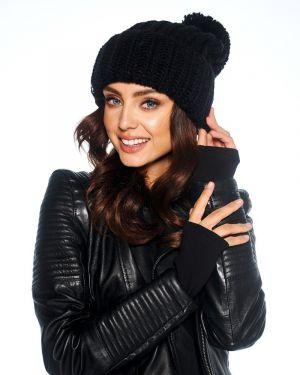 Zimowy kapelusz czarny uniwersalny Lemoniade