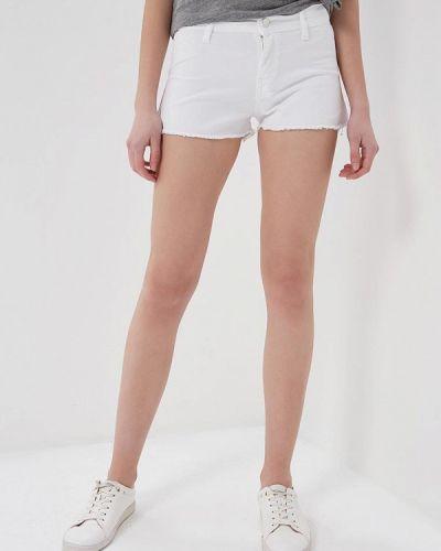 Белые джинсовые шорты Met