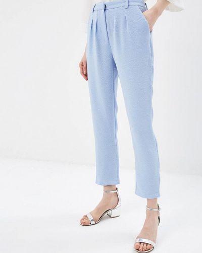 Голубые зауженные брюки Silvian Heach