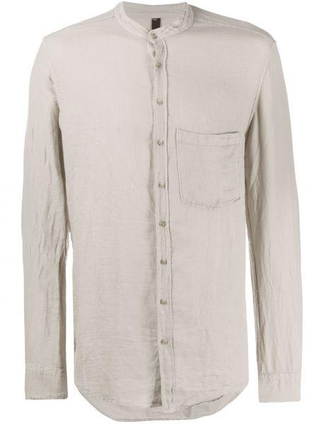 Прямая рубашка с воротником на пуговицах с карманами Poème Bohémien
