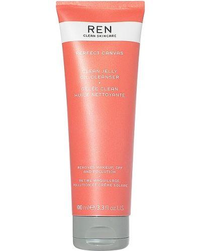 Miękki bezpłatne cięcie olej do twarzy bezpłatne cięcie z ozdobnym wykończeniem Ren Clean Skincare