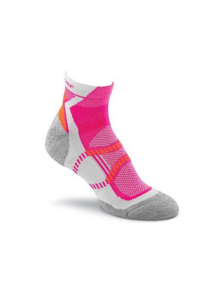 Розовые нейлоновые спортивные компрессионные носки Foxriver