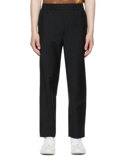 Czarne spodnie wełniane casual Acne Studios