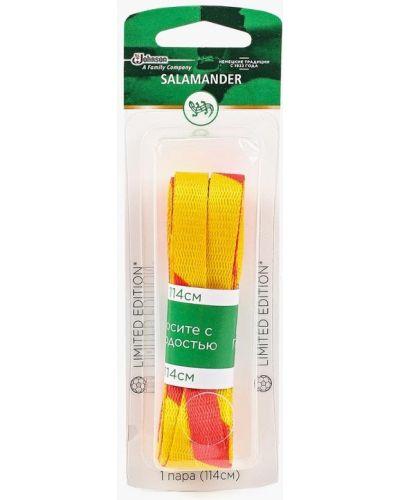 Желтые шнурки Salamander Professional