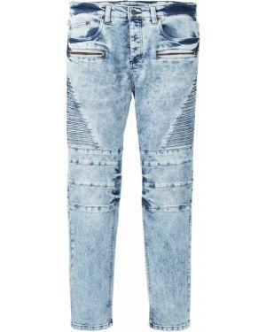 Прямые джинсы варенки на пуговицах Bonprix