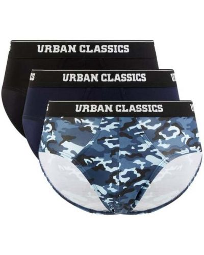 Niebieskie slipy bawełniane miejskie Urban Classics