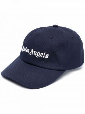 Niebieska czapka z daszkiem Palm Angels