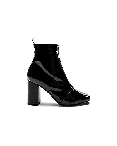 Ботинки на каблуке черные на каблуке Raye