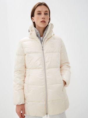 Утепленная куртка - бежевая Ea7