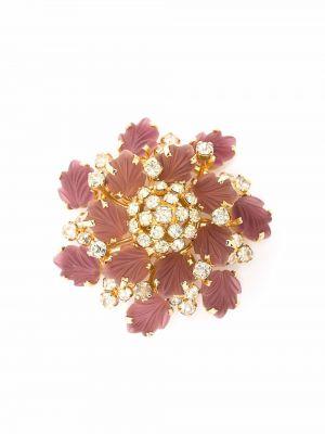Biała złota broszka Christian Dior