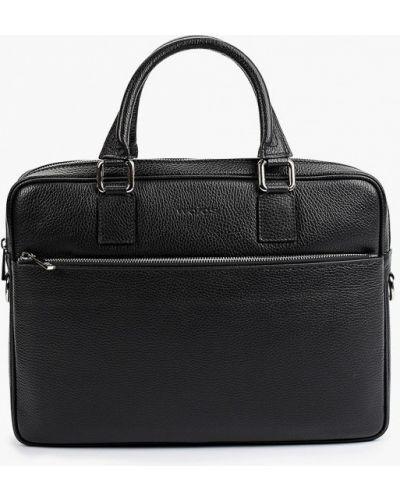 Черная зимняя сумка Wojas