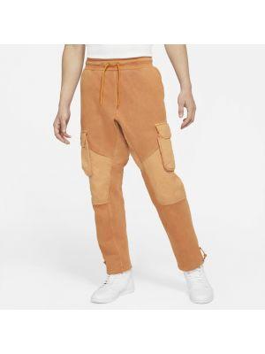 Klasyczne spodnie, pomarańczowy Nike