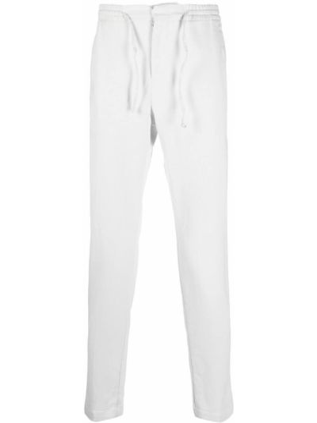 Białe spodnie bawełniane Manuel Ritz
