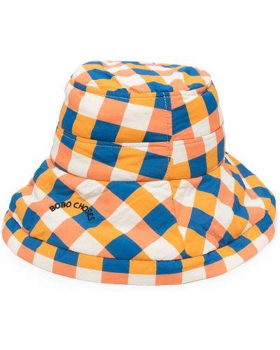 Нейлоновая с ремешком белая шапка Bobo Choses