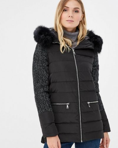 Зимняя куртка черная осенняя Acasta