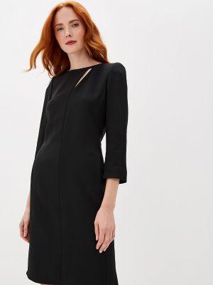 Черное вечернее платье Emporio Armani