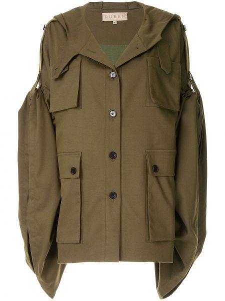 Куртка с капюшоном мятная Ruban