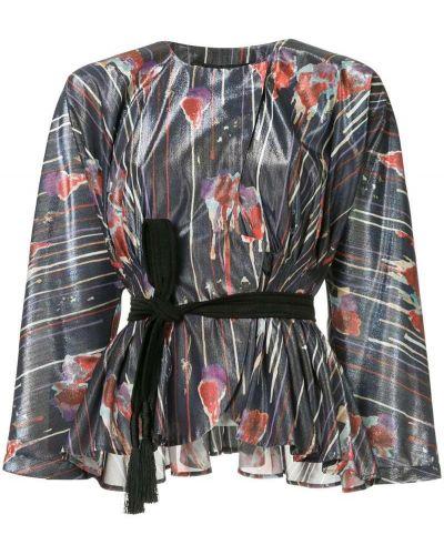 Блузка батник синяя Muller Of Yoshiokubo