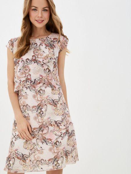 Повседневное платье розовое весеннее Gerry Weber