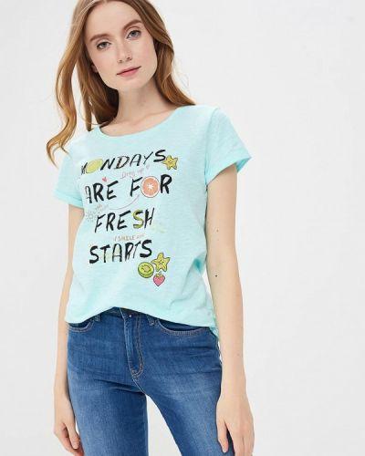 Бирюзовая футболка Sela