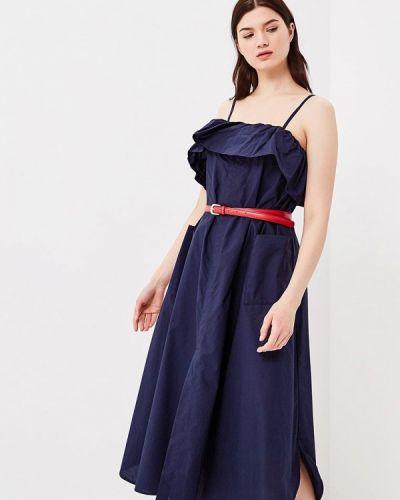 Синий сарафан Baon