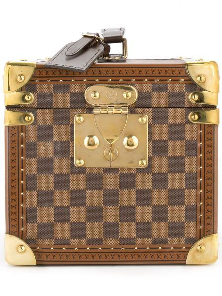 Skórzana torebka walizka z wzorem Louis Vuitton Pre-owned